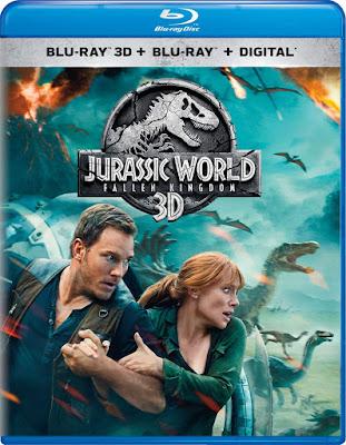 Jurassic World Fallen Kingdom Blu Ray 3d