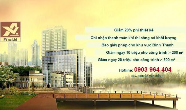 báo giá xây dựng nhà phố trọn gói tại tphcm