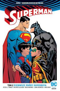 Superman tom 2: Pierwsze próby Superboya okładka