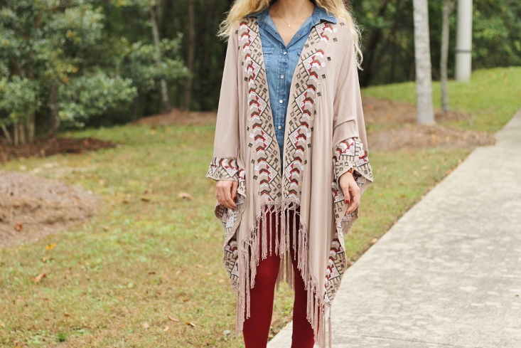 Florida State Seminole game day outfit