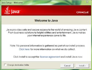 Java 7 Update 9 MSI File 1