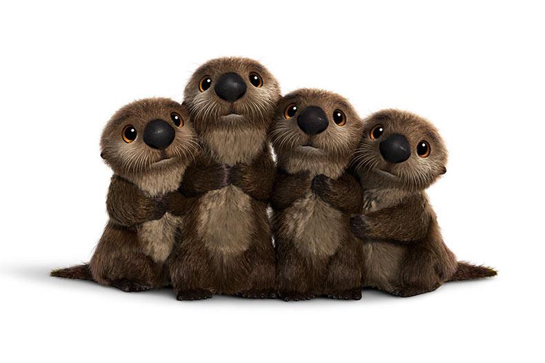 Disney Pixar revela los nuevos personajes adorables de la próxima película 'Buscando a Dory'