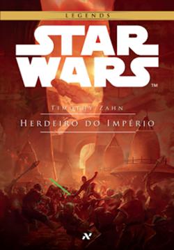 capa do livro star wars herdeiro do império