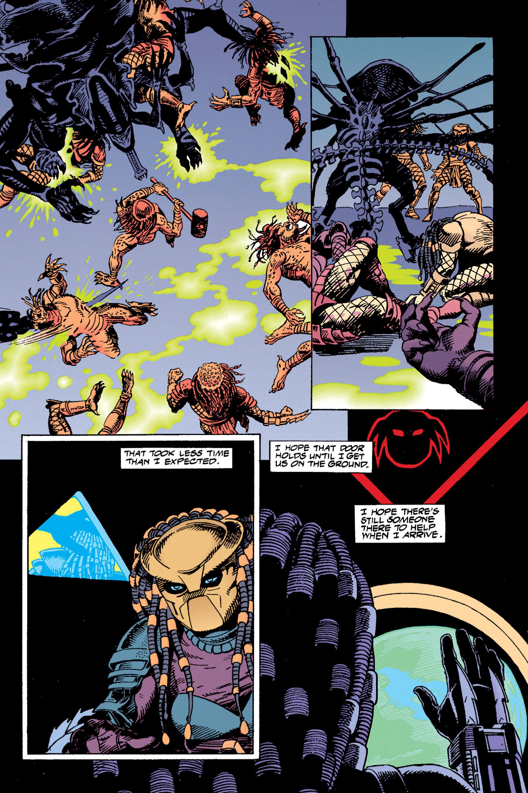 Read online Aliens vs. Predator Omnibus comic -  Issue # _TPB 1 Part 3 - 94