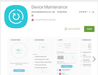device maintenance