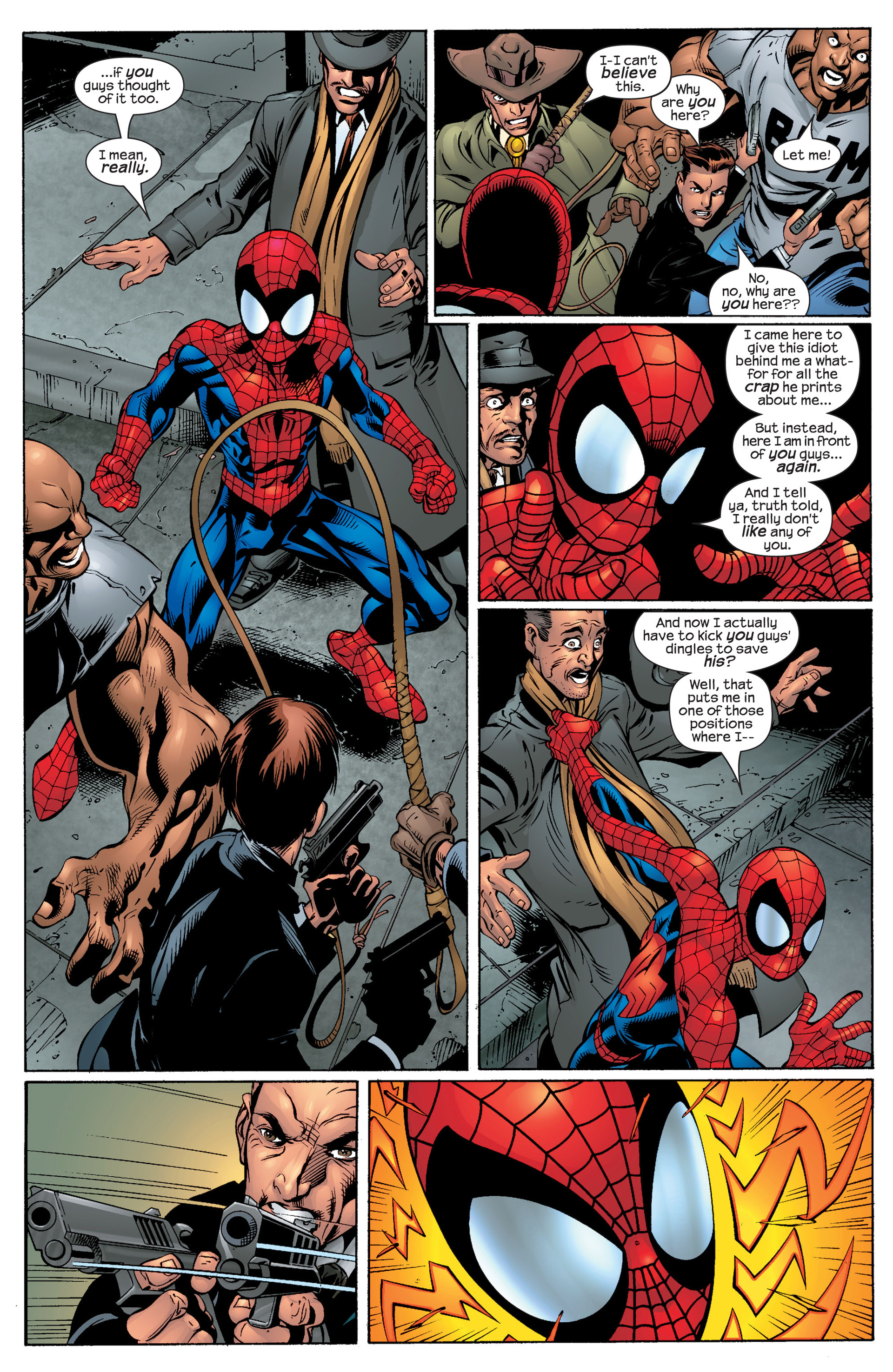Read online Ultimate Spider-Man (2000) comic -  Issue #49 - 6