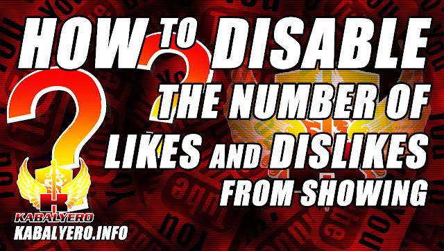 How To Disable The Number Of Likes And Dislikes From Showing On Your Videos In YouTube