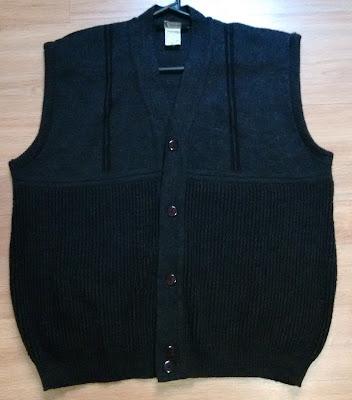 colete tricot masculino Tam GG