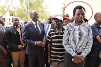 Ruto%2Bson - DP RUTO's youngest son roasted badly over his untidy hair, Kenyans claim he resembles a grave digger(PHOTO)