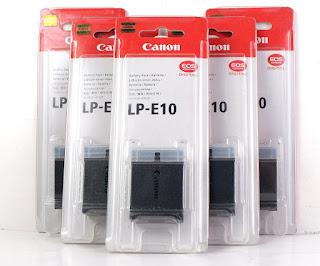 Jual Baterai CANON 1100D, 1200D, 1300D ( LP-E10  )