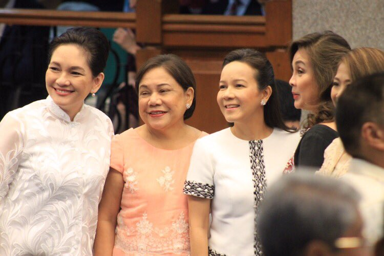 The lady senators SONA 2017