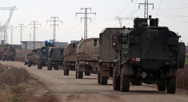 Η Τουρκία κατασκευάζει μια νέα στρατιωτική βάση στη βόρεια Συρία
