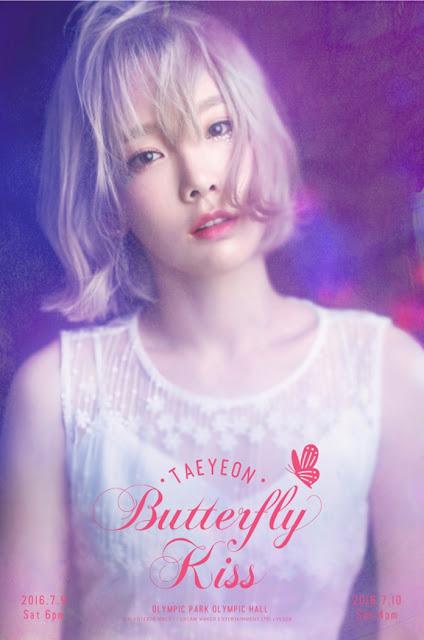 snsd taeyeon butterfly kiss concert