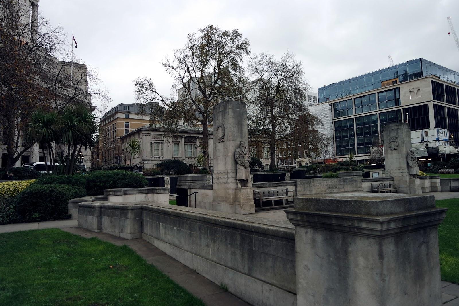 Trinity garden, London, blog, Londres, South Bank, City of London, London street,