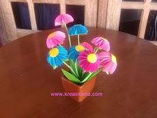 Tutorial Membuat Bunga yang Indah dari Kertas Origami