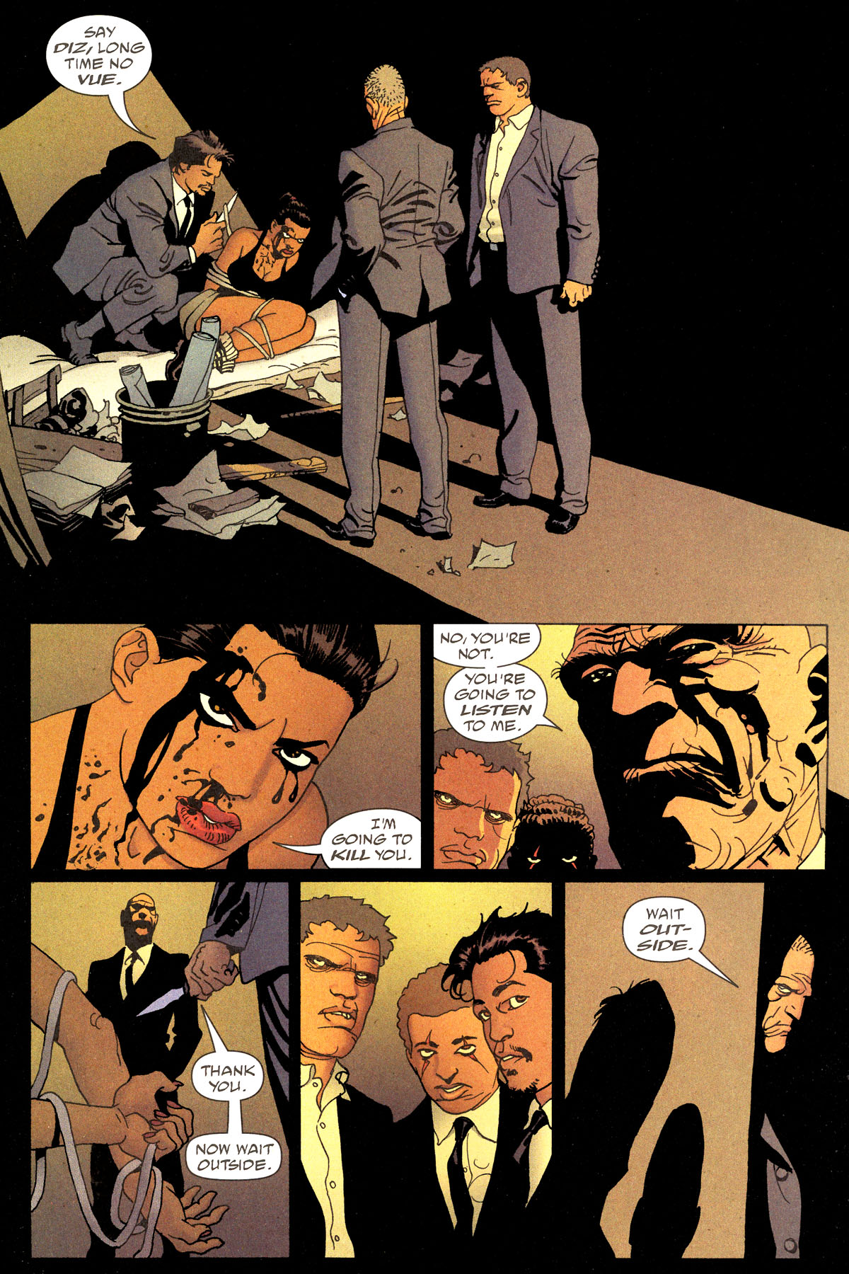 Read online 100 Bullets comic -  Issue #80 - 11