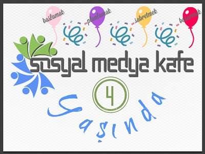 Sosyal Medya Kafe 4 Yaşında