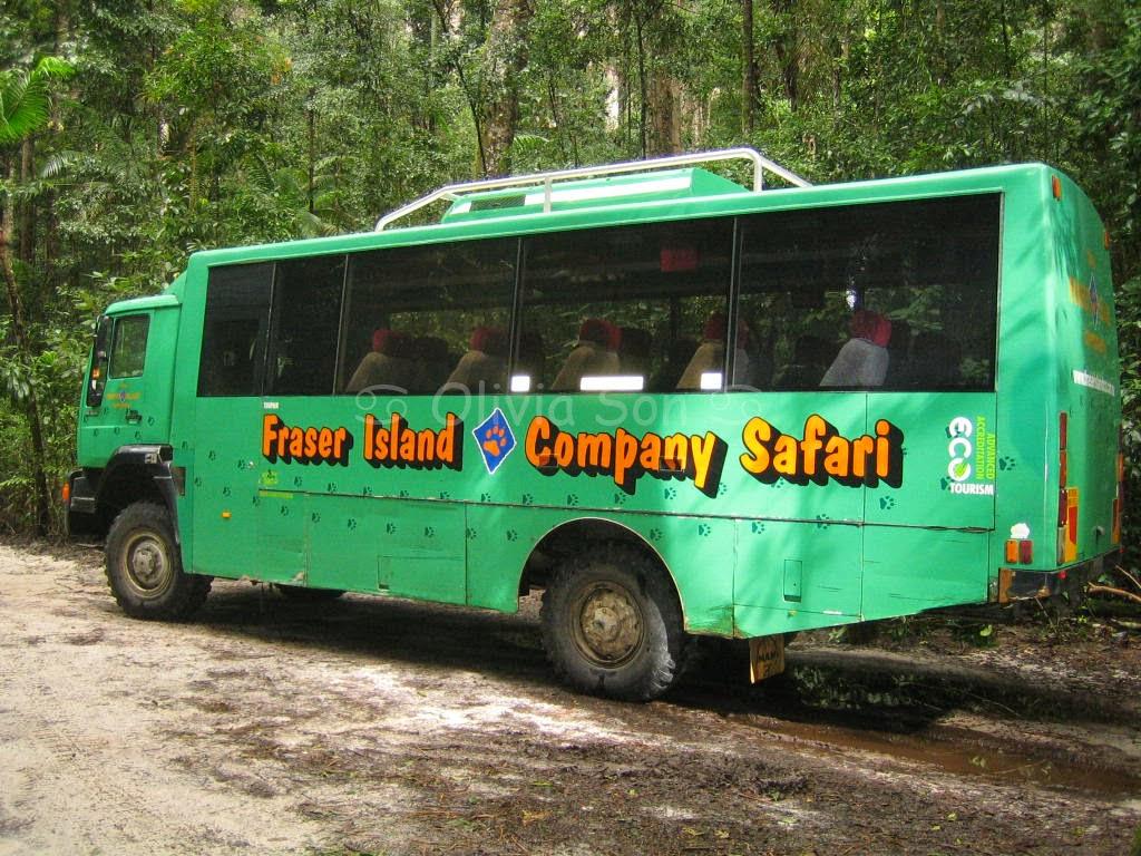Bus, Fraser Island, Queensland, Australie