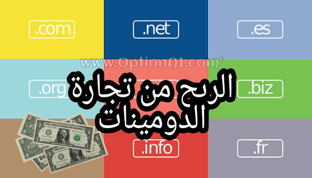 كيفية كسب المال عن طريق تجارة الدومينات بيع وشراء أسماء النطاقات Domains Names افضل طرق الربح و ربح المال من تجارة الدومينات