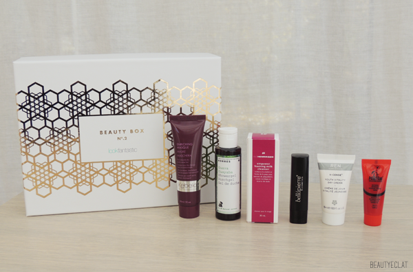 revue avis test lookfantastic beauty box novembre 2015