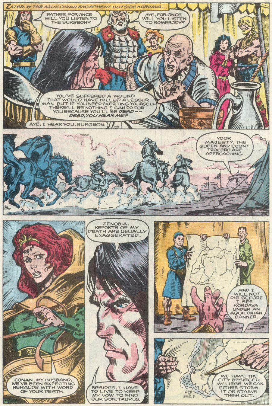 Conan the King Issue 40 | Viewcomic reading comics online