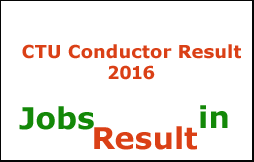 CTU Conductor Result 2016