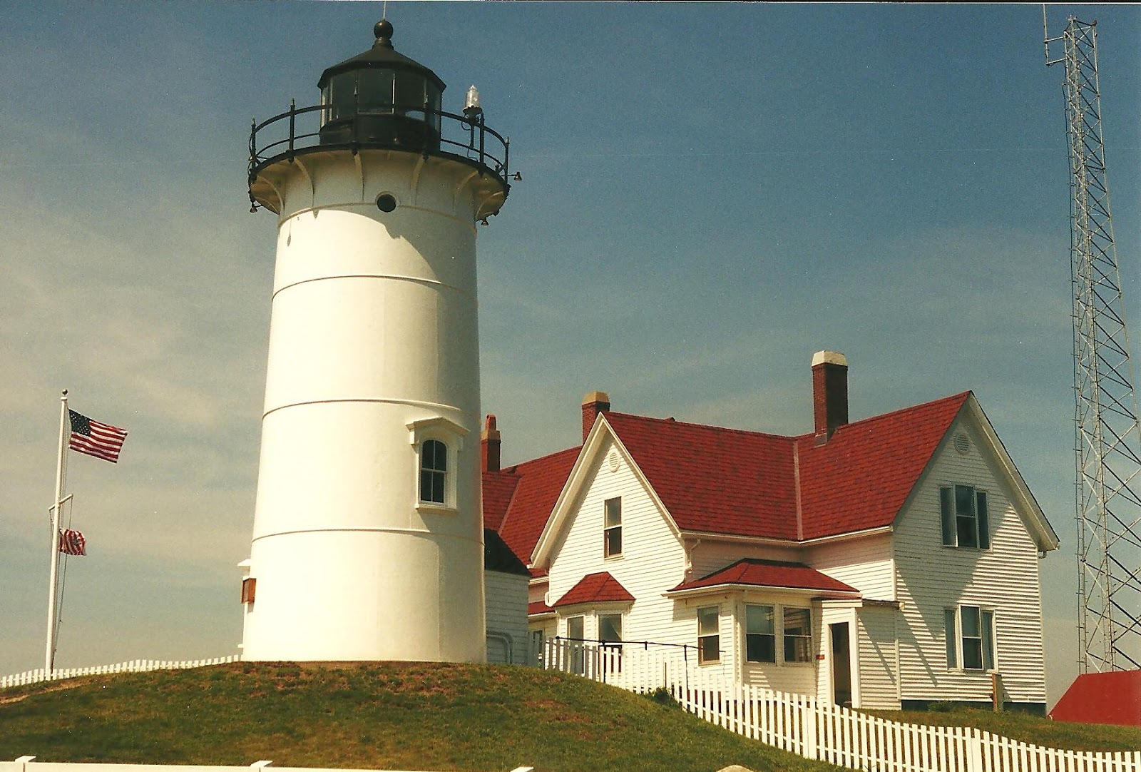 Al S Lighthouses Massachusetts Nobska Lighthouse