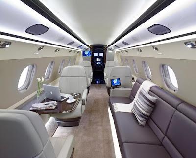 Embraer Legacy 500 Interior