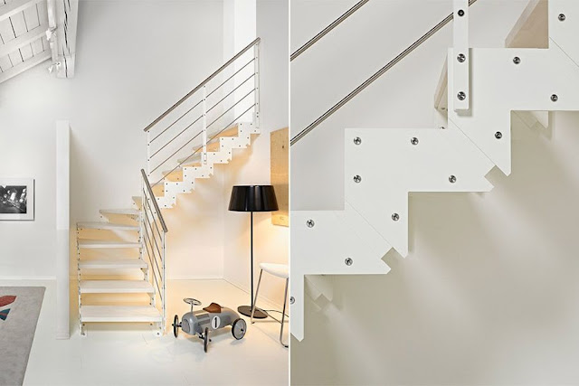 modern staircases for small spaces