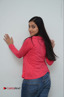 Telugu Actress Mouryani Latest Pos in Blue Denim Jeans  0054.JPG