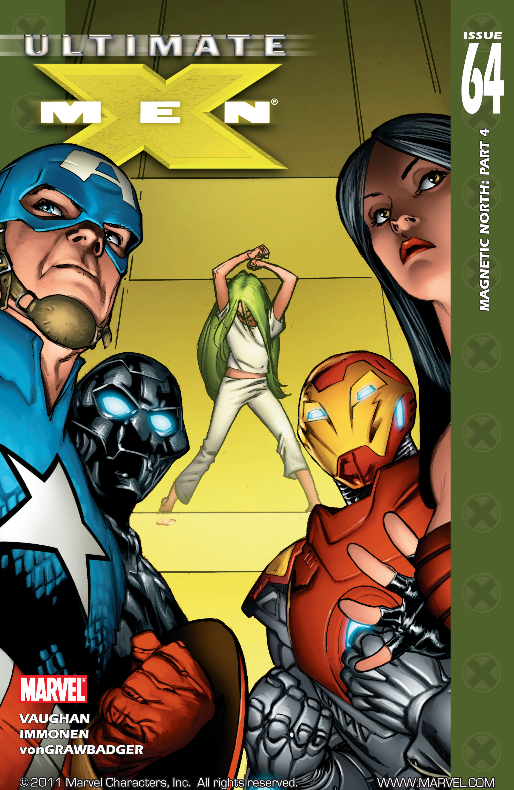 Read online Ultimate X-Men comic -  Issue #64 - 1