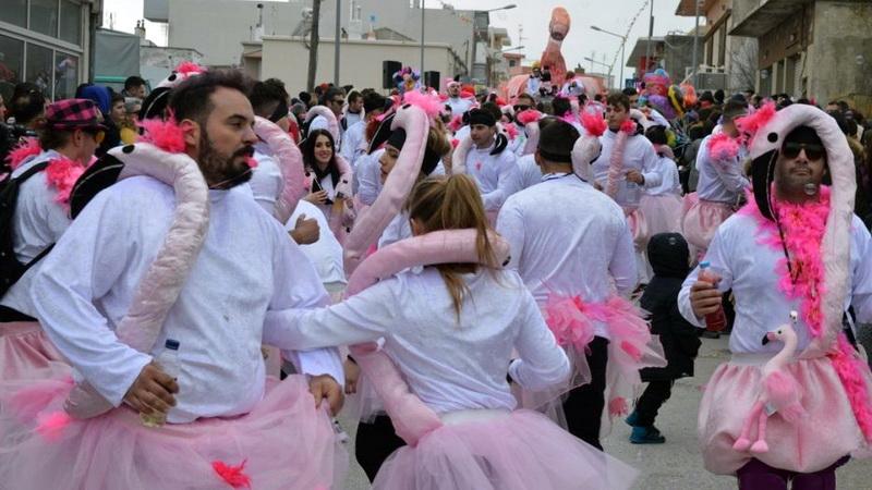 Τρελό ξεφάντωμα στο Καρναβάλι Φερών
