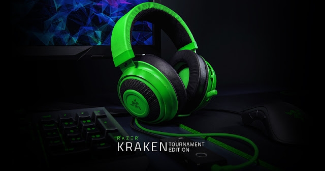 Kraken Tournament Edition: the new version of the flagship Razer helmet