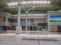 Empty Dorasan Station, built to be a gateway to renewed rail contact between South and North Korea