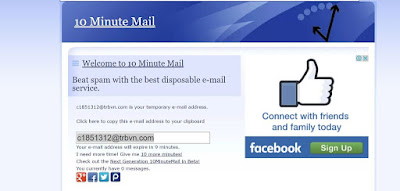 10MinuteMail image