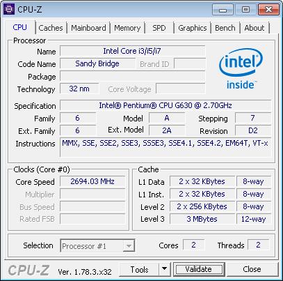 Cara Cek Spesifikasi Komputer dan Laptop Dengan CPU-Z