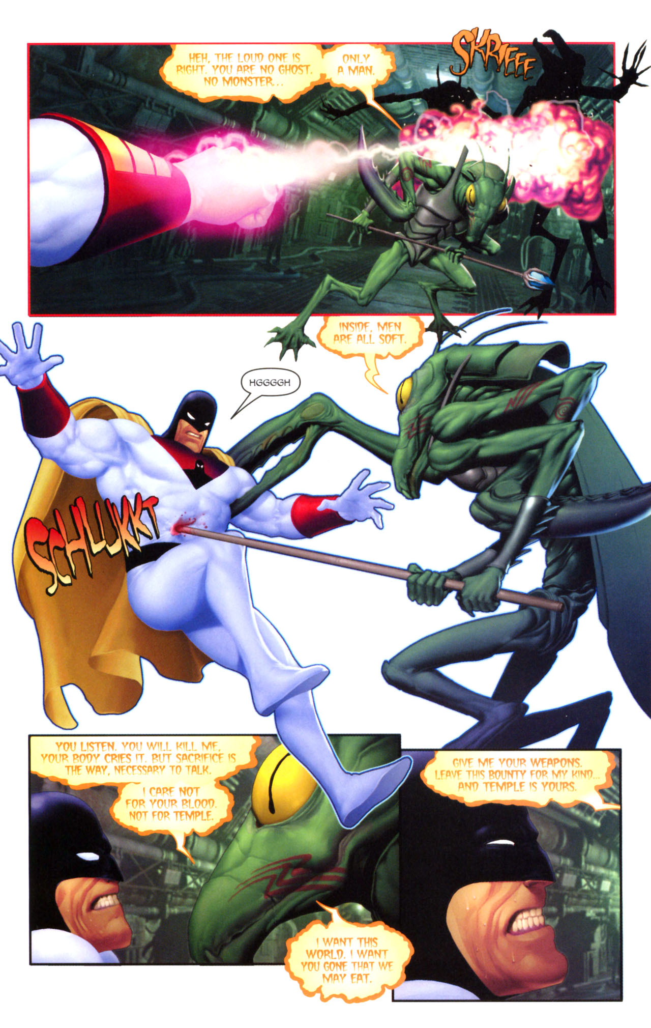 Read online Space Ghost (2005) comic -  Issue #5 - 13