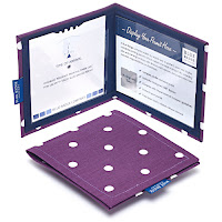 Permit Cover - Spotty Grape : £21.60 (£18.00 exc VAT)