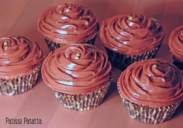recette de cupcakes carambars et nutella, cupcakes régressifs, carambars, nutella, que cuisiner avec des carambars,