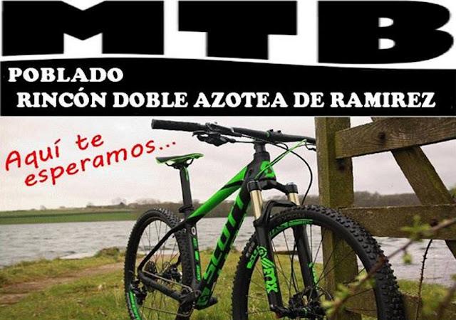 MTB en Pueblo Rincón (Treinta y tres, 04/jun/2017)