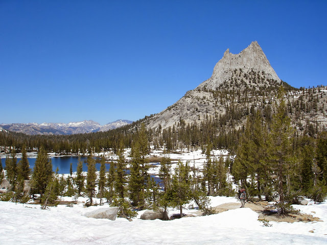 Cathedral Peak Snow Yosemite National Park Backpack