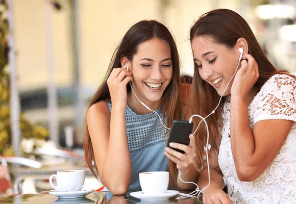 Compartilhar-fones-de-ouvidos