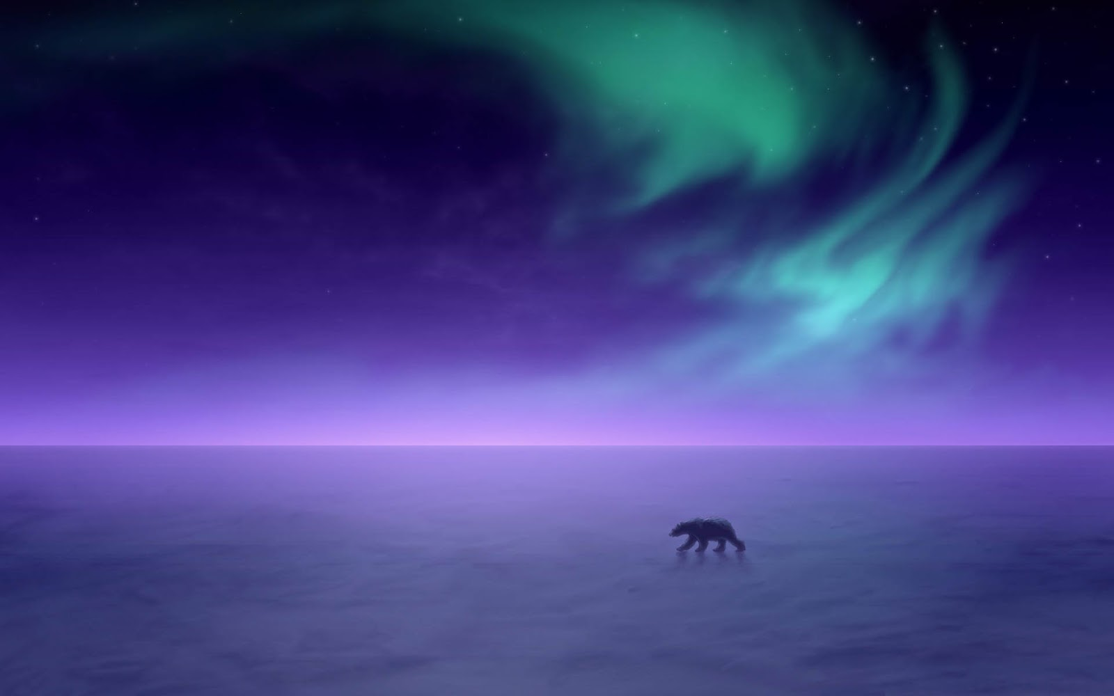 Mega Wallpapers HD: Aurora Boreal Wallpaper