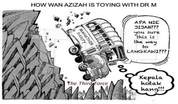 PRU14: Pergolakan antara Kartel Azmin dan Orang Azizah - Kit Siang berkuasa, Mahathir jadi tunggul kayu