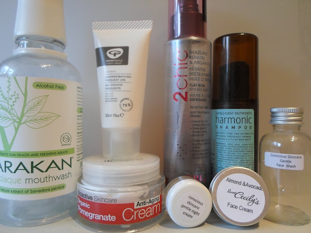 Sugarpuffish What's in my bin? February Empties 2013