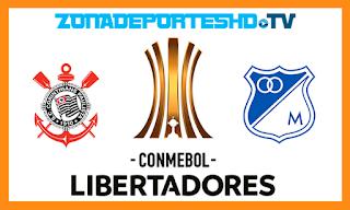 Ver Corinthians vs Millonarios En vivo 24 de Mayo 2018 Copa Libertadores