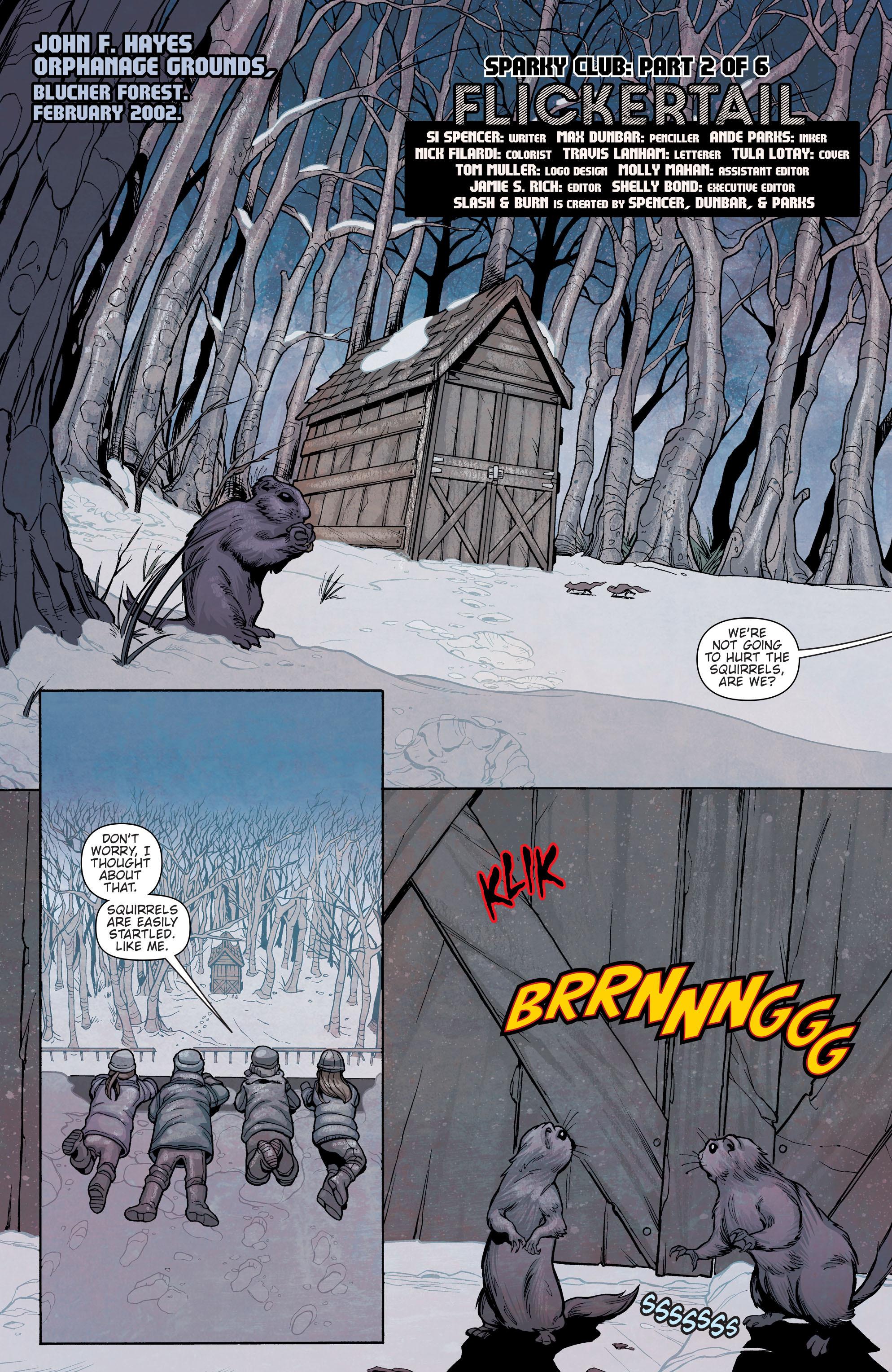 Read online Slash & Burn comic -  Issue #2 - 2