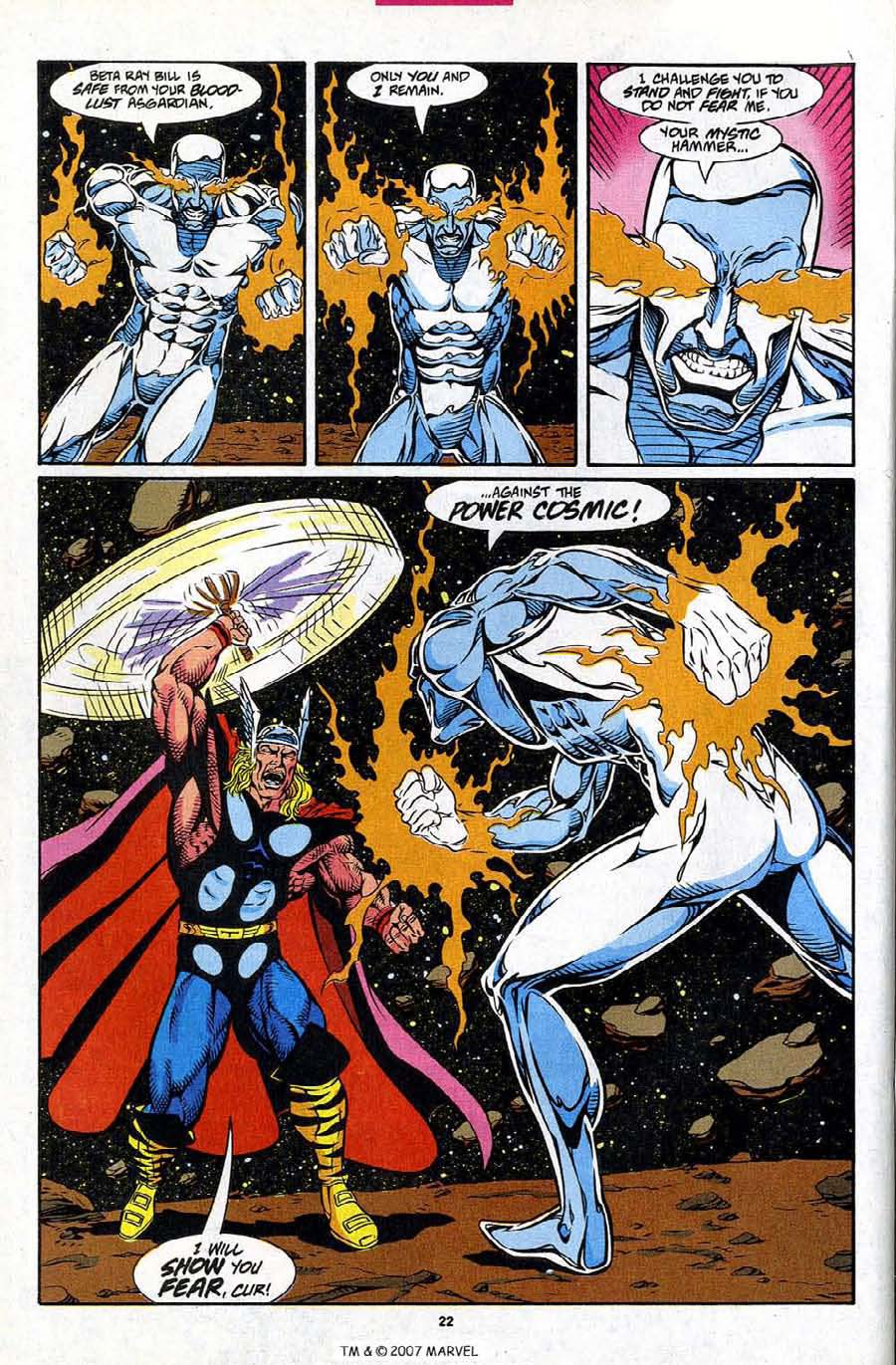 Read online Silver Surfer (1987) comic -  Issue #86 - 24