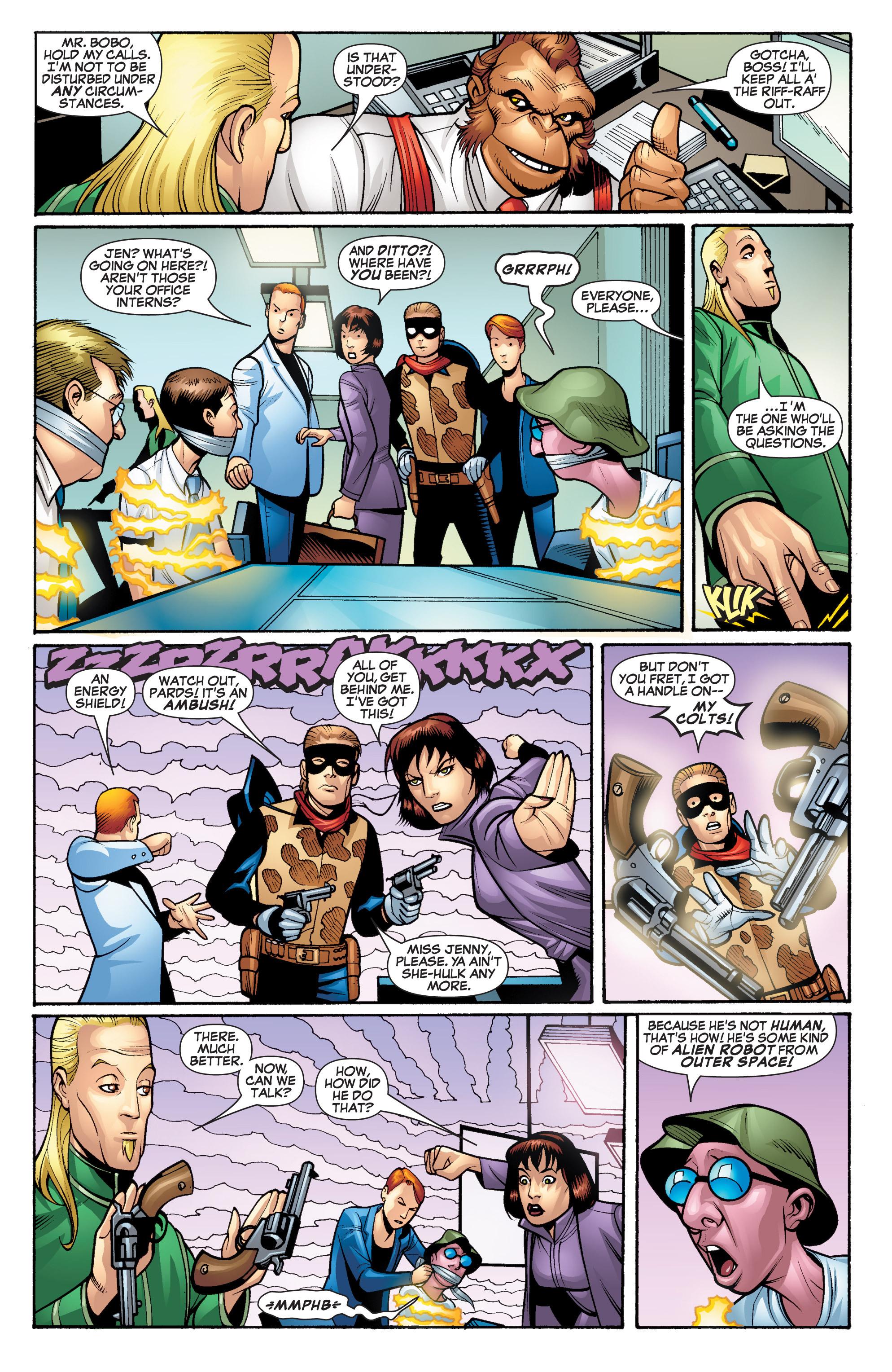 Read online She-Hulk (2005) comic -  Issue #20 - 4