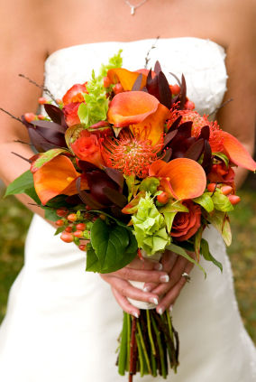 Fall Wedding Flowers
